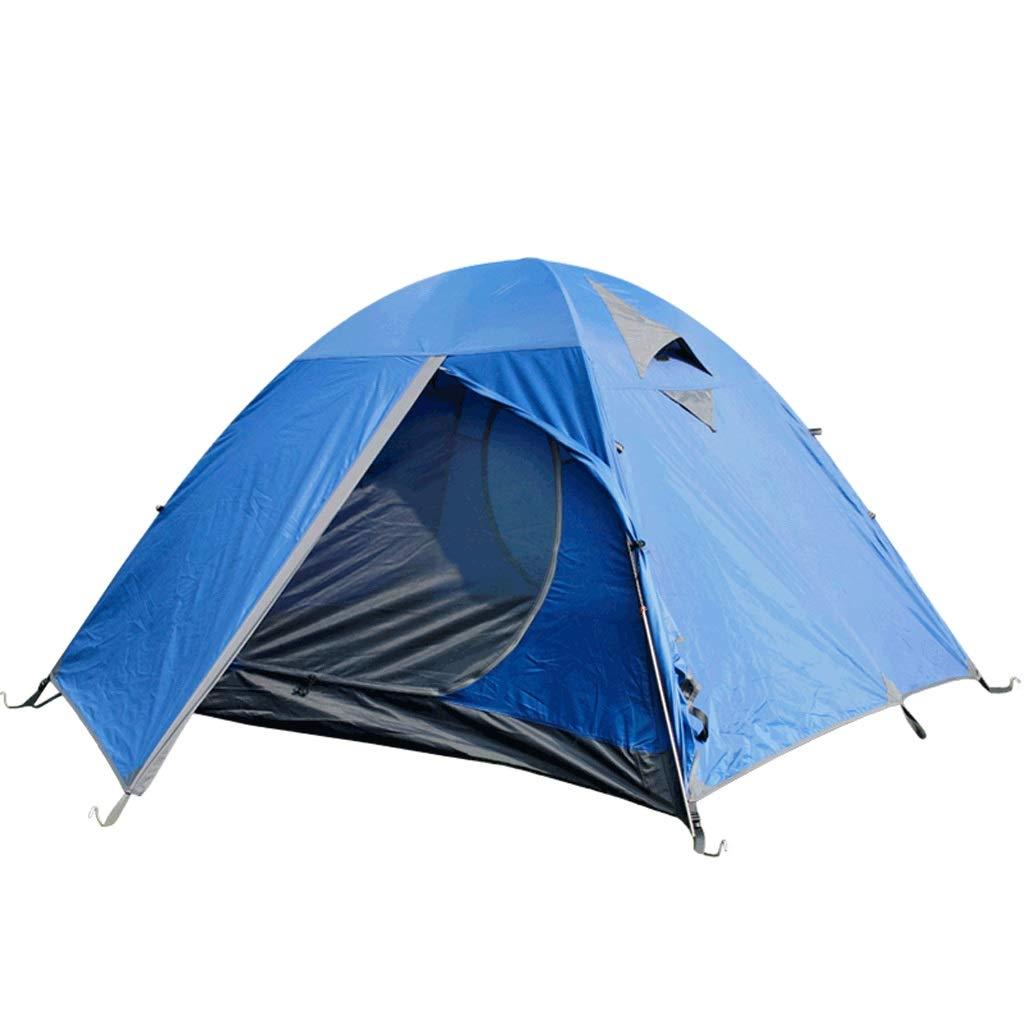 LCSHAN 屋外装置のテント23人はキャンプの防風性および防雨性アルミニウムポーランド人をハイキングします   B07PZZSLCP