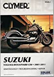 2001-2011 CLYMER SUZUKI VOLUSIA/BOULEVARD C50 SERVICE MANUAL M260-3 NEW (761)