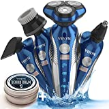 Venyn Electric Shaver Razor Men Rotary Shaver For Men Cordless Wet Dry Beard