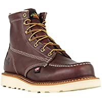 "Thorogood Men's American Heritage 6"" Moc Toe, MAXwear Wedge Non-Safety Toe Boot 7"
