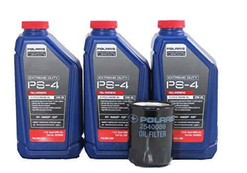 2016 Polaris RZR 1000 Extreme Duty Oil Change Kit (Kit 3 Quart)