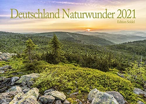 Edition Seidel Schönes Deutschland Naturwunder Premium Kalender 2021 DIN A3 Wandkalender Wald Natur Wandern Bäume