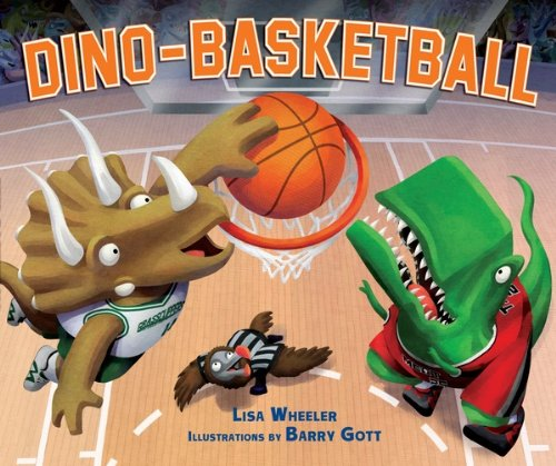 Dino-Basketball (Carolrhoda Picture Books) by [Wheeler, Lisa]