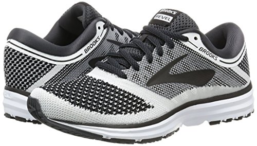 Brooks Women's Anthracite Running White Black Revel Shoe rU4xrn