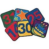 Carpet Kits Calendar Block Kids Rug Kit Rug Size: 1' x 1'