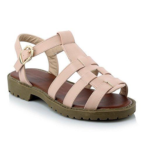 amoonyfashion-womens-open-toe-solid-pu-low-heels-buckle-sandals-pink-38