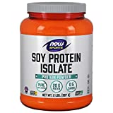NOW Sports Soy Protein Isolate, Unflavored, 2-Pounds For Sale