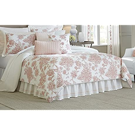 Croscill 2A0 004O0 1610 672 Fiona King Comforter Set Blush