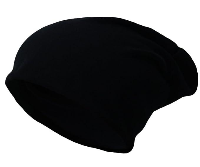Beanie Jersey Slouch Long Unisex Cap Gorras Touca Gorro Gorro de Punto Mujer Hombre New Brand/2017 Negro Talla única: Amazon.es: Ropa y accesorios