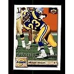 1992 Upper Deck # 249 Michael Stewart Los Angeles Rams (Football Card) Deans.