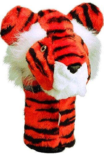Daphnes Tiger Headcover Orange/Black