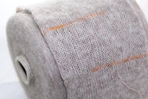 Brushed cashmere merino, yarn on cone, beige, lace yarn, per 100 gram ()