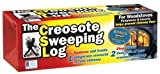Creosote Sweeping Log For Fireplaces (Pack of 2)
