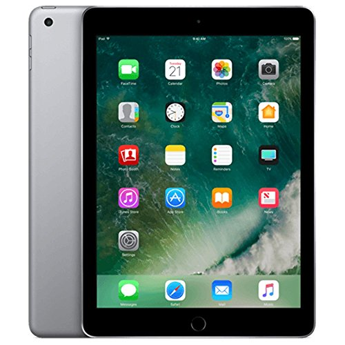 Apple iPad with WiFi, 32GB, Space Gray (2017 Model) by Apple