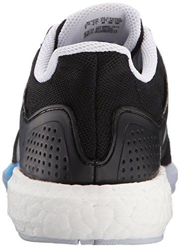 Adidas Performance solar Rnr las zapatillas de running, negro / plata / azul, 5 M US Black/Silver/Blue