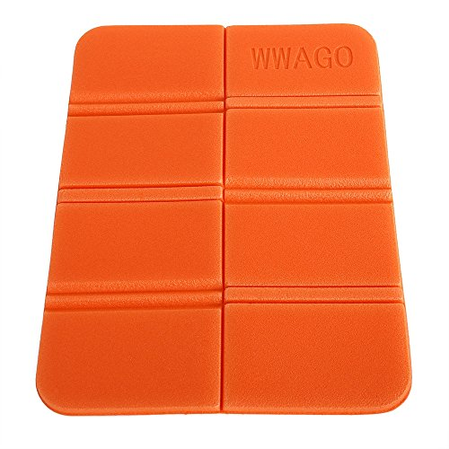 CN-Culturegg Outdoor Folding Camping Cushion Waterproof Sitting Mat,Orange