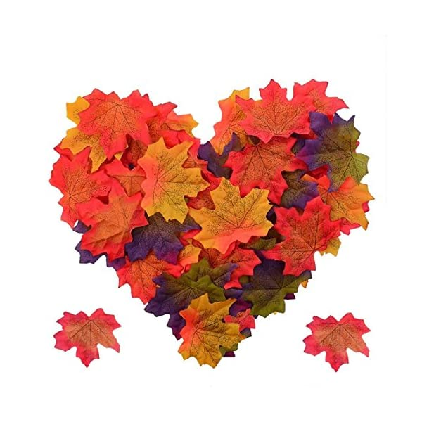 Pistha-Artificial-Fall-Maple-Leaves–300-PCS-Artificial-Maple-Leaves-Artificial-Maple-Leaf-Art-Flowers-for-Party-and-Weddings