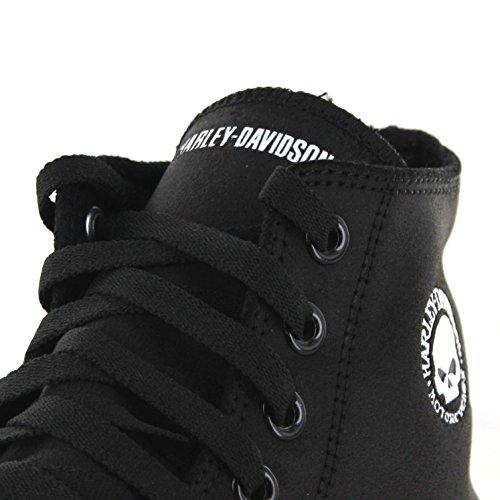 Harley-Davidson Herren High Top Sneaker Schwarz