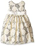 American Princess  Girls' All Over Sequin Soutache Dress
