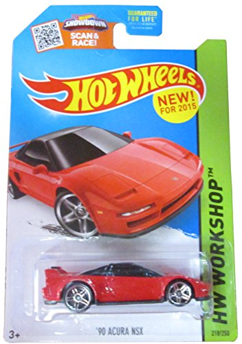 Hot Wheels 2015 HW Workshop '90 Acura NSX 218/250, - Nsx Wheels Acura Hot