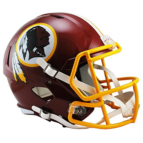 (Washington Redskins Officially Licensed Speed Full Size Replica Football Helmet)