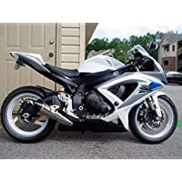 White Blue Black Fairing Injection for 2006-2007 Suzuki GSXR GSX-R 600 750