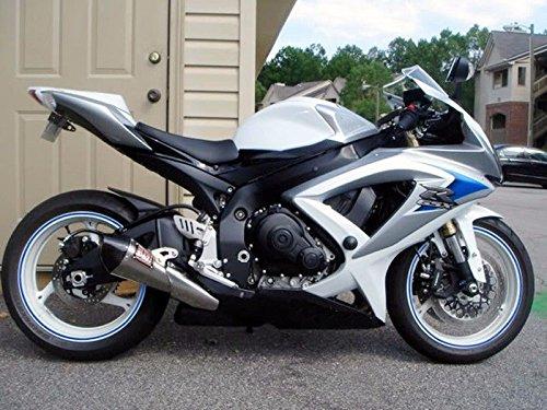 White Blue Black Fairing Injection for 2006-2007 Suzuki G...