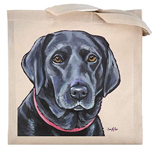 Black Lab Tote Bag, Labrador Retriever Tote ()