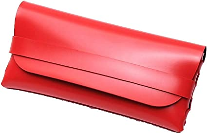 QSFGHJKUV Estuche de lápices Estuche para lentes 5 piezas Nuevo Gafas Bolsa Hombre y mujer Moda Gafas de sol Caja Gafas Caja Pu Gafas de sol Caja, Rojo: Amazon.es: Oficina y papelería