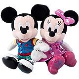 東京ディズニーランド34周年 記念グッズ ミッキーマウス&ミニーマウス ぬいぐるみセット【東京ディズニーリゾート限定】