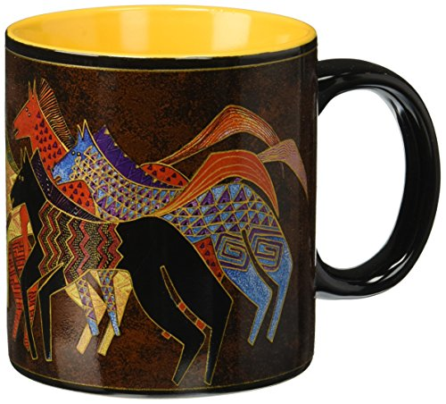 Laurel Burch Artistic Mug Collection, Native Horses