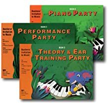 Bastiens' Invitation to Music - 3 Book Set - Includes Piano Party Book D, Performance Party Book D, and Theory & Ear Training Party Book D