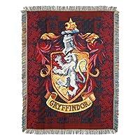 """Harry Potter, Manta tejida para tiro de tapiz, """"Escudo de Gryffindor"""", 48 """"x 60"""""""