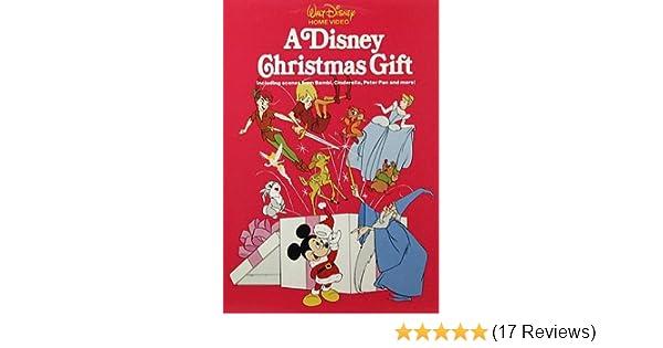 Amazon A Disney Christmas Gift VHS Movies TV