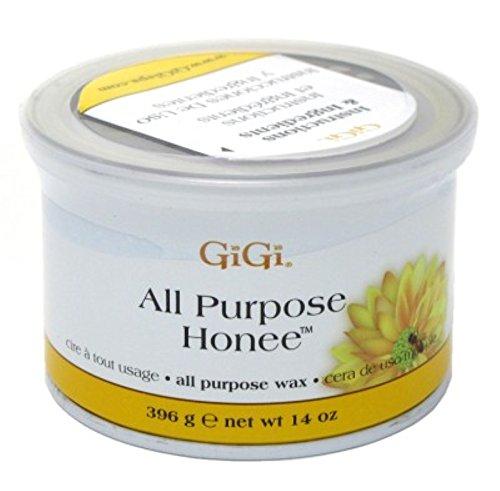 Honey Bee Wax - GiGi All Purpose Honee Wax 14 oz (Pack of 2)