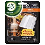 Air Wick Scented Oil Air Freshener Starter Kit, National Park Collection, Hawaii Scent, 1 Count (Pack of 8)