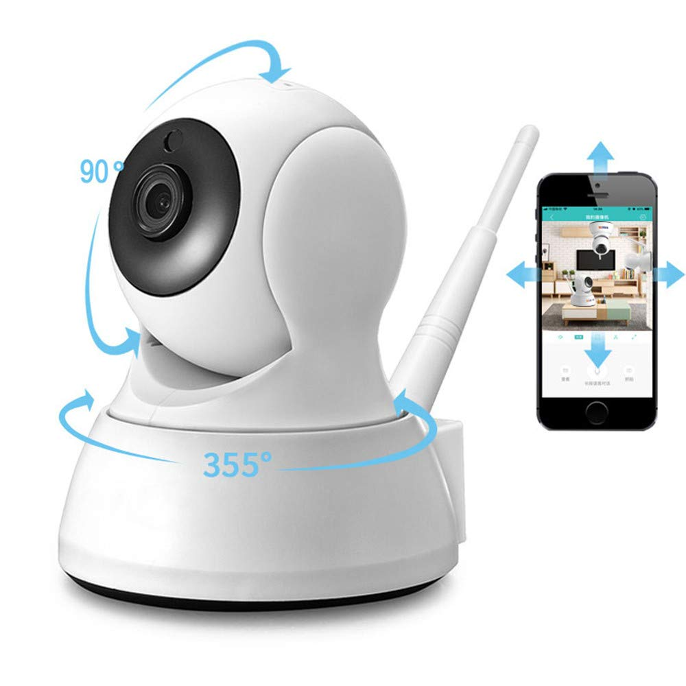 Security Camera WiFi IP Camera - BESDER HD Home Wireless Baby/Pet Camera  with Cloud Storage Two-Way Audio Motion Detection Night Vision Remote