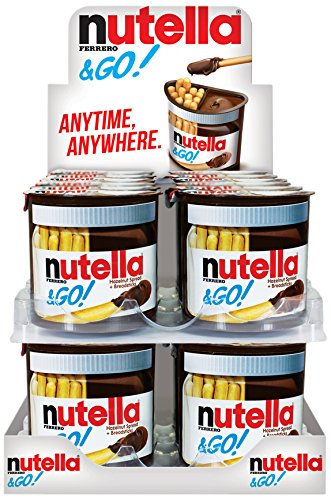 Ferrero Nutella & Go Hazelnut Spread with Breadsticks (24  Count)