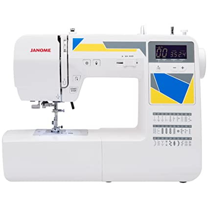 700774996ca Amazon.com  Janome MOD-30 Computerized Sewing Machine with 30 Built ...
