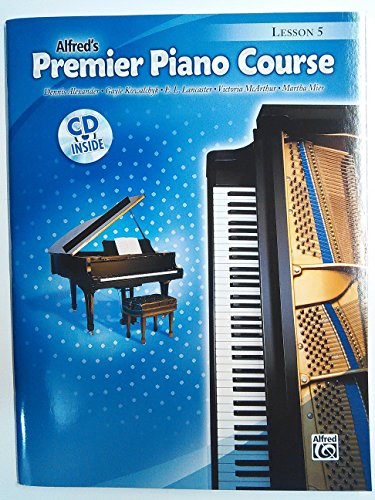 Alfred's Premier Piano Course Lesson 5 by rockstarmusicsupply