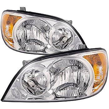 Headlight Set For 2006 Kia Sedona LX EX Models Left and Right With Bulb 2Pc