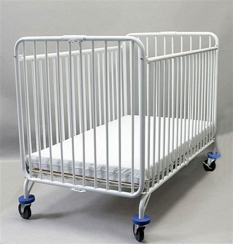 Serta Fairmount 4-in-1 Convertible Baby Crib, Bianca White