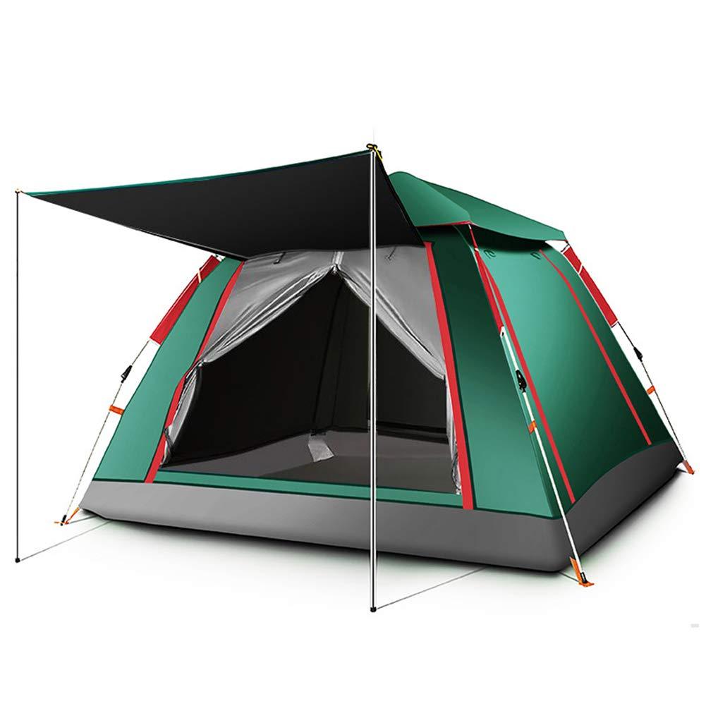 3-8 Personen Familienzelt Outdoor Windproof, Thicken Thicken Thicken Rain-Proof, Breathability Automatic Camping Zelt 2000 0-3000 mm für Fishing Beach Camping Wandern Höhlen Tulle, Oxford Cloth,B,240240154cm B07PFT74M8 Zelte Am praktischsten 95ce5e