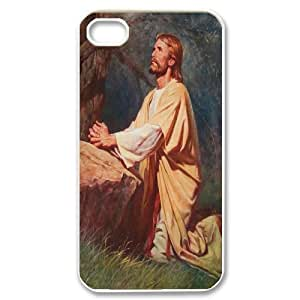 Yo-Lin case FXYL258431Love jesus christ protective case For Iphone 4 4S case cover