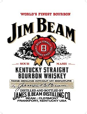 Artwork - The World's Finest Bourbon - Jim Beam - Kentucky Straight Bourbon Whiskey
