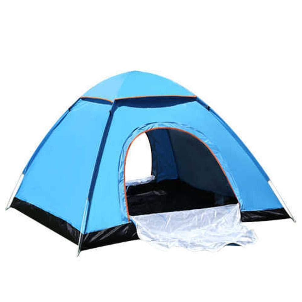 Lxj Outdoor-Zelt Zelt Familie Paar Camping Zelt 3-4 Personen 2 Sekunden, die Geschwindigkeit öffnen automatische Zelt im Freien Zubehör 200  200  h120c M
