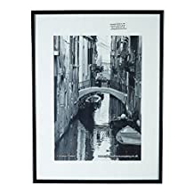 The Photo Album Company PAAF3040B-BLK Luxury Black Satin Aluminium Frame - 30X40