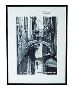 /PAAF3040B-BLK - Marco de fotos de aluminio 30 x 40 cm , color  negro