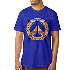 Logo Of OverWatch RoyalBlue Slim Fit Men's T-shirt.       Advantage:       100% ECO Cotton,No Shrinking.       Machine Wash,Color Won't Fade After Washing.       Believe That The Custom Logo Of OverWatch T-shirt Will Be The Best Idea ...
