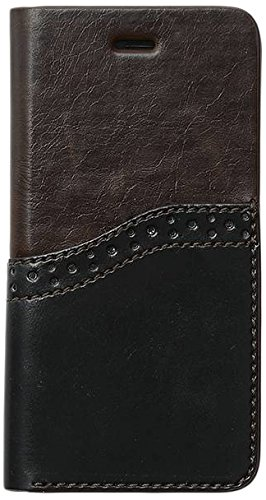 Zenus OA400153 Oxford Diary Case in Dunkles Braun für Apple iPhone 6